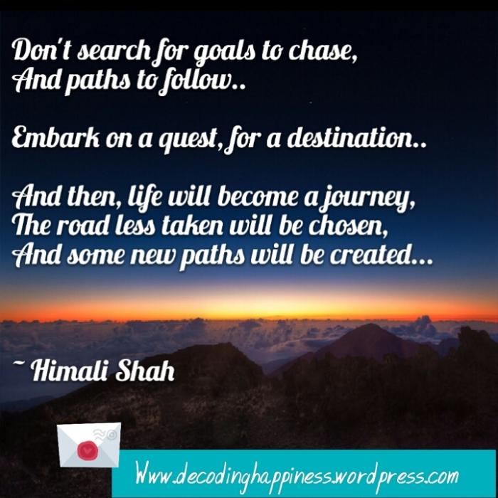 GoalsNDestination